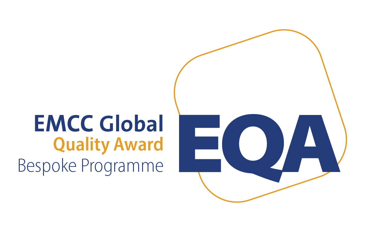 EMCC Global Quality Award logo Bespoke Programme