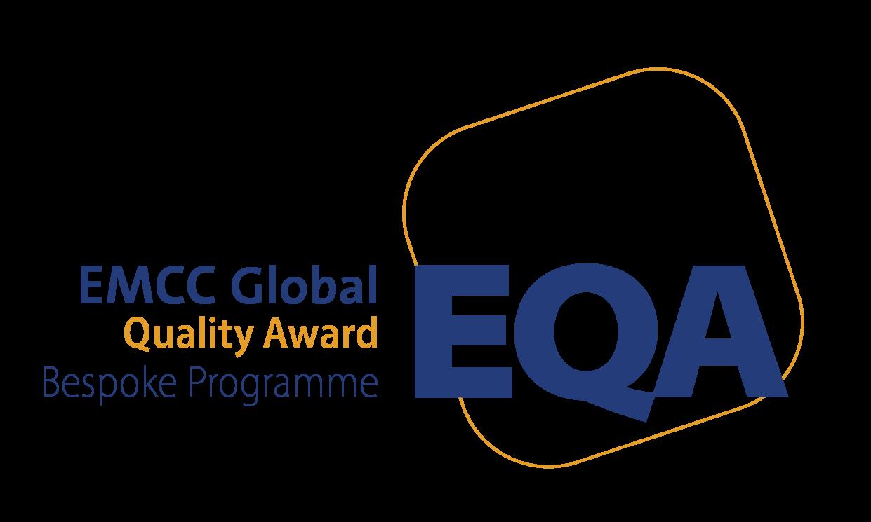 EMCC Global Quality Award logo Bespoke Programme